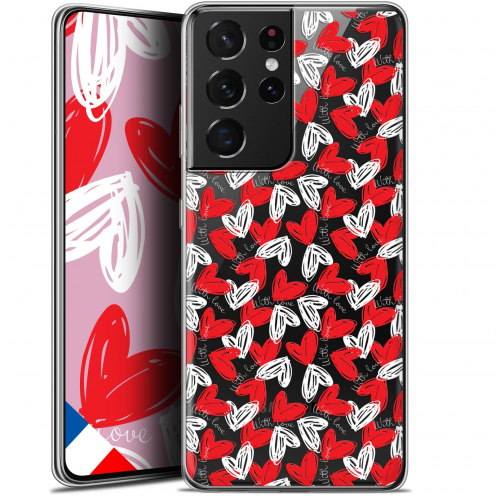 "Extra Slim Gel Samsung Galaxy S21 Ultra (6.8"") Case Love With Love"