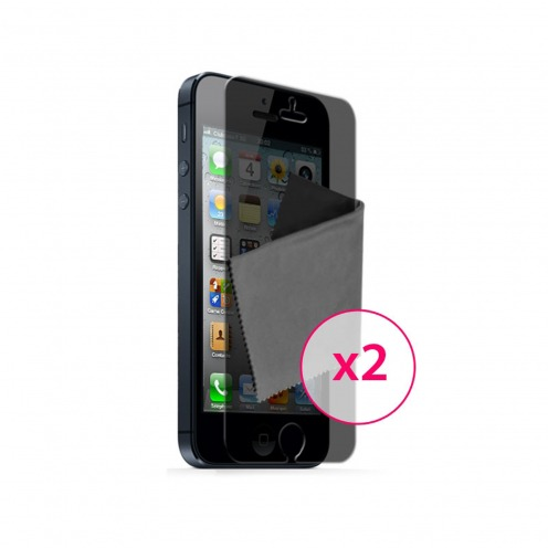 Clubcase ® Privacy Anti-glare screen protector for iPhone 5 set of 2