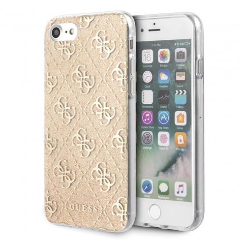 Original faceplate case Guess® GUHCI8PCU4GLGO iPhone 7/8 gold