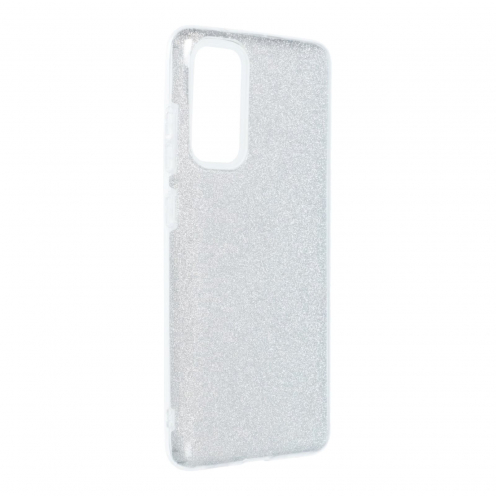 Forcell SHINING Case for Samsung Galaxy S20 FE / S20 FE 5G silver