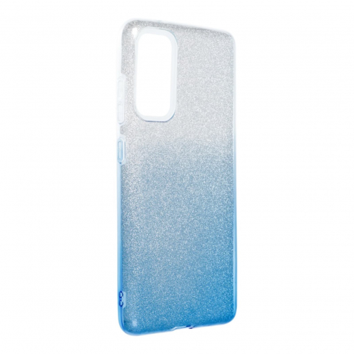 Forcell SHINING Case for Samsung Galaxy S20 FE / S20 FE 5G clear/blue