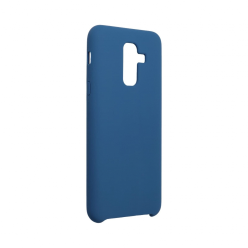 Forcell Silicone Case for Samsung Galaxy A6 Plus 2018 dark blue