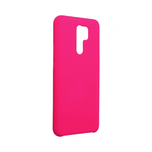 Forcell Silicone Case for Xiaomi Redmi 9 hot pink