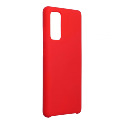 Forcell Silicone Case for Samsung Galaxy S20 FE / S20 FE 5G Rouge