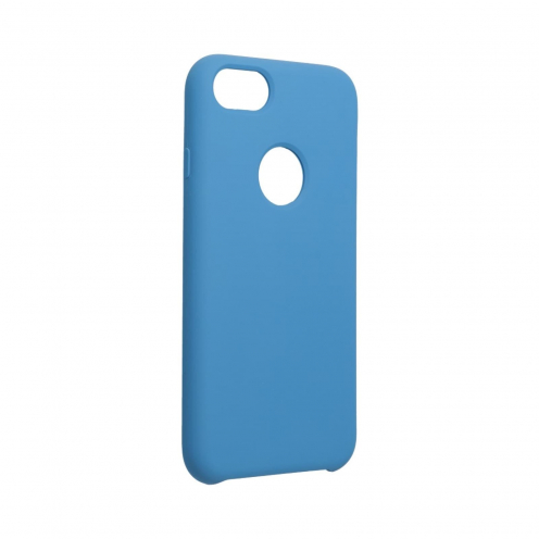 Forcell Silicone Case for iPhone 6 / 6S dark blue (with hole)