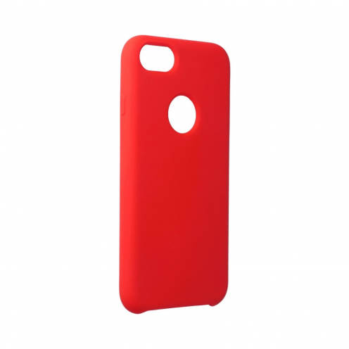 Forcell Silicone Case for iPhone 7 Rouge (with hole)