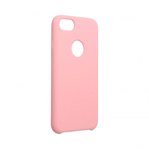 Forcell Silicone Case for iPhone 6 / 6S pink (with hole)