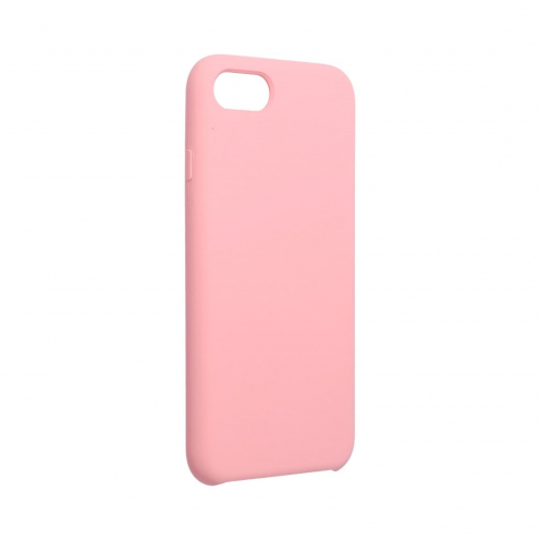 Forcell Silicone Case for iPhone 7 / 8 pink (without hole)