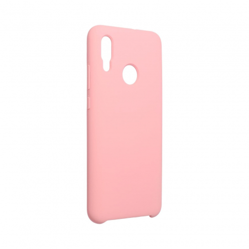 Forcell Silicone Case for Huawei P Smart 2019 pink