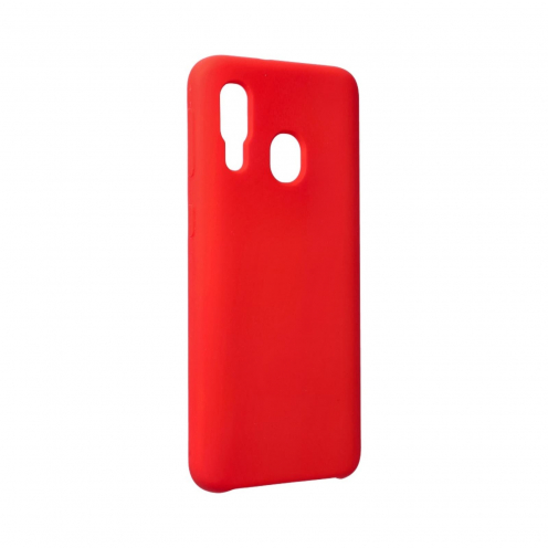 Forcell Silicone Case for Samsung Galaxy A40 Rouge