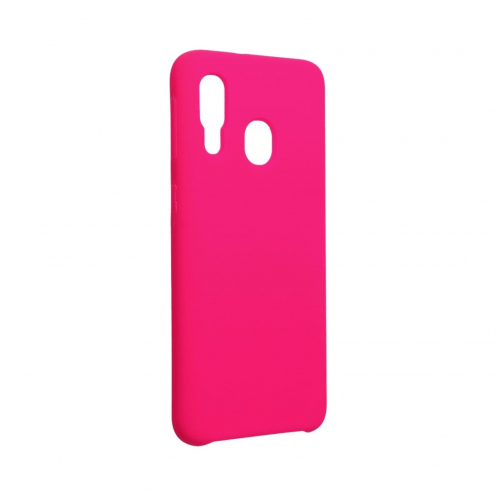 Forcell Silicone Case for Samsung Galaxy A40 hot pink