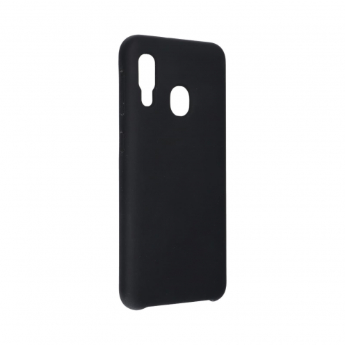 Forcell Silicone Case for Samsung Galaxy A20E black