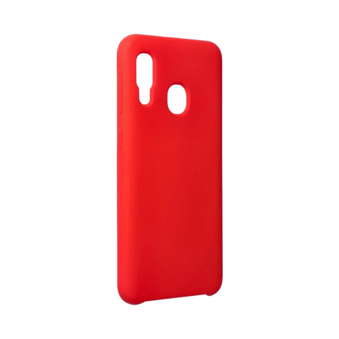 Forcell Silicone Case for Samsung Galaxy A20E Rouge