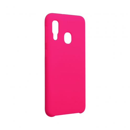 Forcell Silicone Case for Samsung Galaxy A20E hot pink
