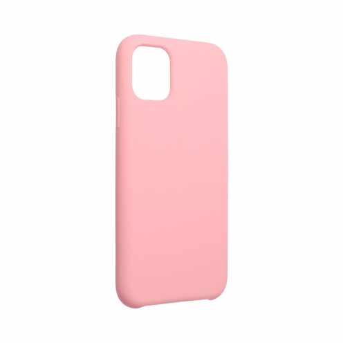 "Forcell Silicone Case for iPhone 11 2019 ( 6,1"" ) pink (with hole)"