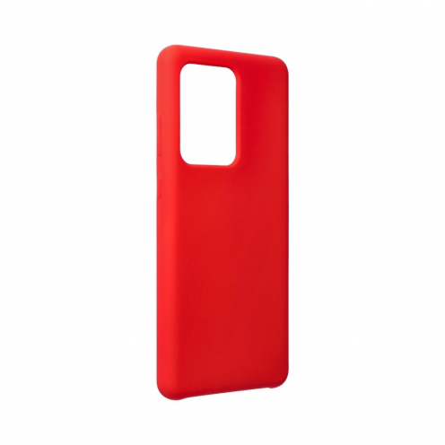 Forcell Silicone Case for Samsung Galaxy S20 Ultra / S11 Plus Rouge