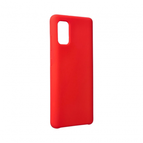 Forcell Silicone Case for Samsung Galaxy A41 Rouge