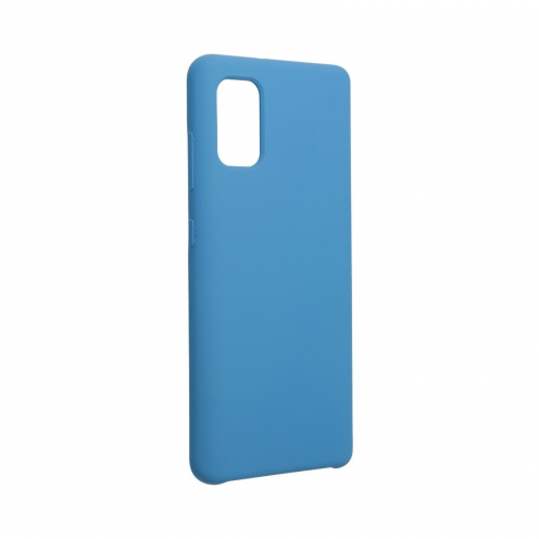 Forcell Silicone Case for Samsung Galaxy A41 dark blue