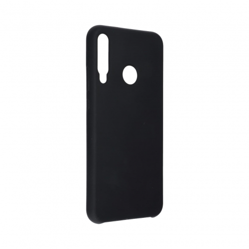 Forcell Silicone Case for Huawei P40 Lite E black