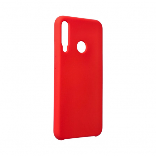 Forcell Silicone Case for Huawei P40 Lite E Rouge