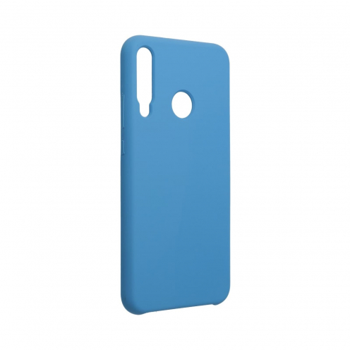 Forcell Silicone Case for Huawei P40 Lite E blue