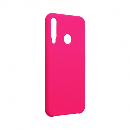 Forcell Silicone Case for Huawei P40 Lite E hotpink