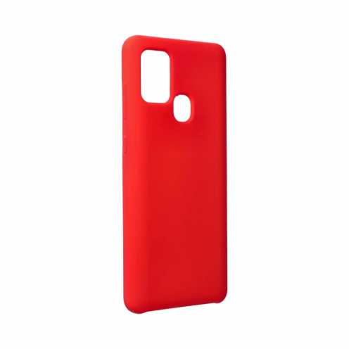 Forcell Silicone Case for Samsung Galaxy A21S Rouge