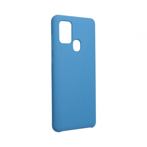 Forcell Silicone Case for Samsung Galaxy A21S dark blue