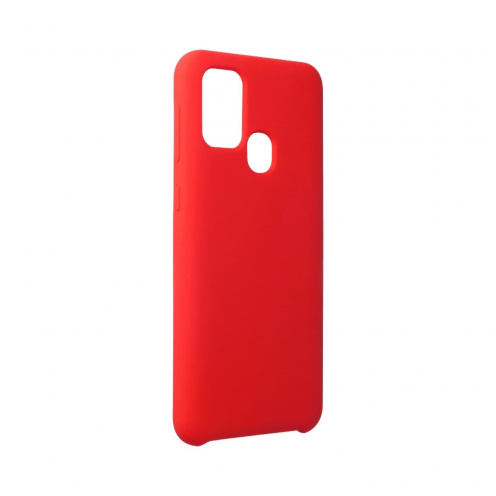 Forcell Silicone Case for Samsung Galaxy M31 Rouge