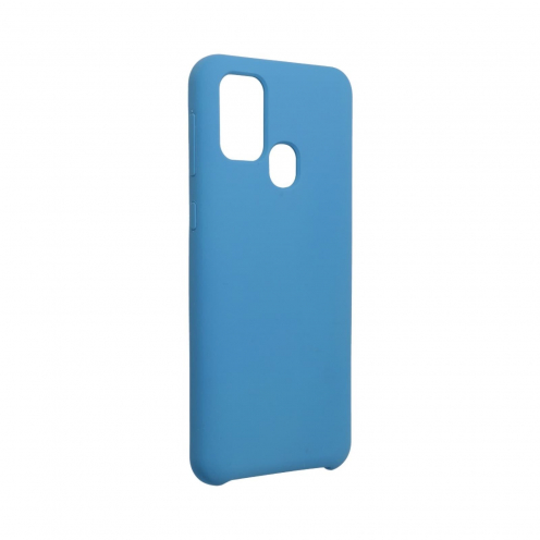 Forcell Silicone Case for Samsung Galaxy M31 dark blue