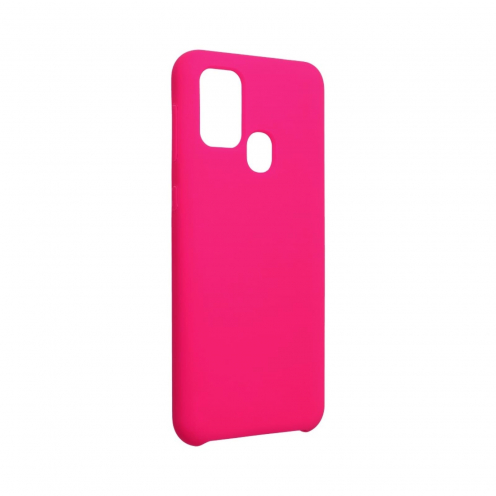 Forcell Silicone Case for Samsung Galaxy M31 hot pink