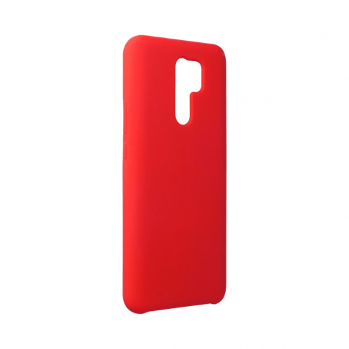 Forcell Silicone Case for Xiaomi Redmi 9 Rouge