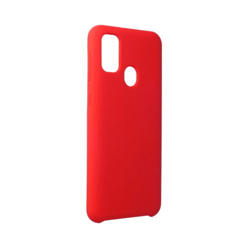 Forcell Silicone Case for Samsung Galaxy M21 Rouge