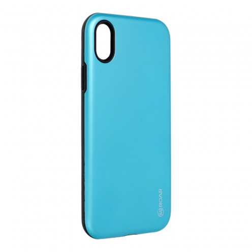 Coque Antichoc Roar© Rico Armor Pour iPhone XR light blue