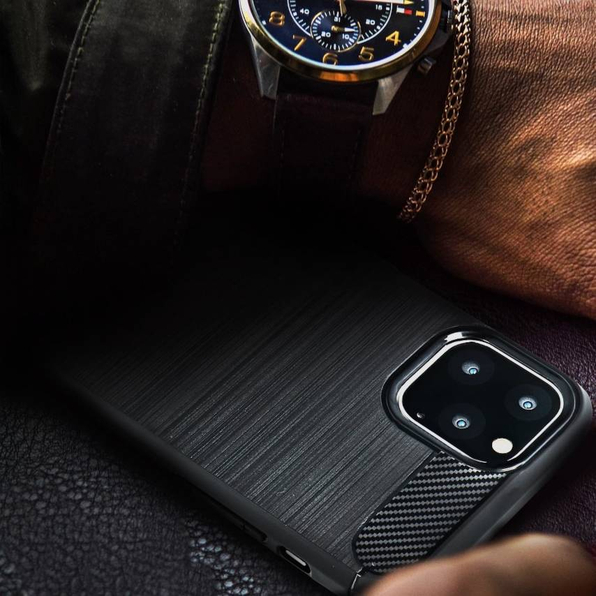 Forcell CARBON Case for Huawei Mate 40 black