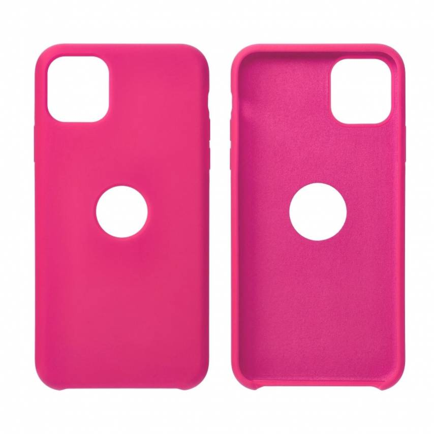 Forcell Silicone Case for Huawei Y5P hotpink
