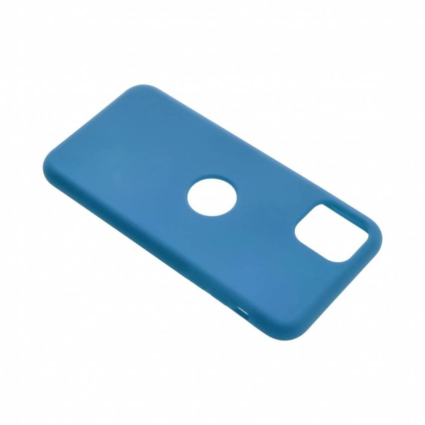 Forcell Silicone Case for Huawei P Smart 2020 blue