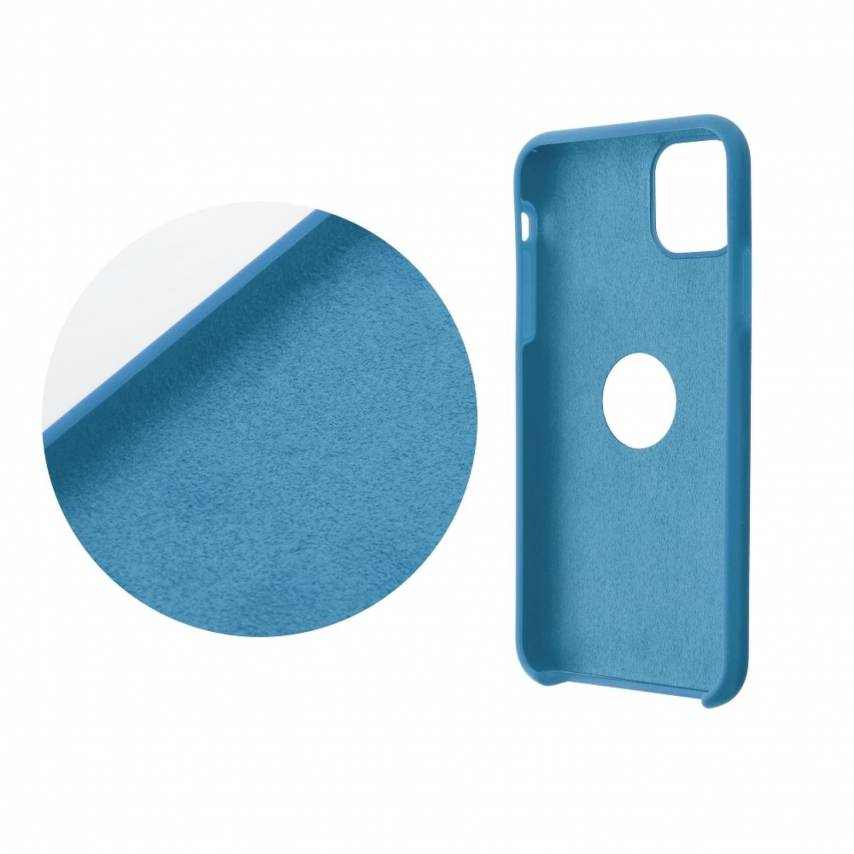 Forcell Silicone Case for Huawei Y5P blue