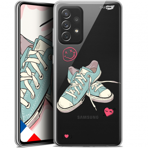 """Extra Slim Gel Samsung Galaxy A72 4G/5G (6.7"""") Case Design Mes Sneakers d'Amour"""
