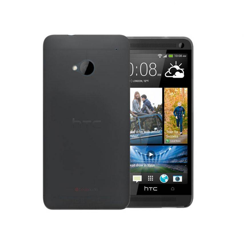 Ultra thin Case 0.3 mm Frost for HTC One Black