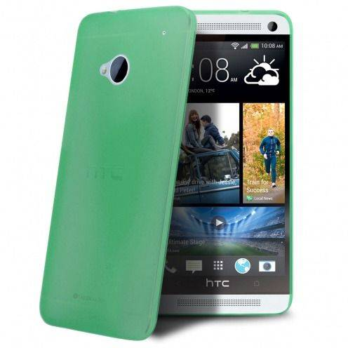 Ultra thin Case 0.3 mm Frost for HTC One Green