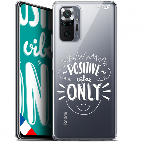 """Extra Slim Gel Xiaomi Redmi Note 10 PRO (6.7"""") Case Design Positive Vibes Only"""