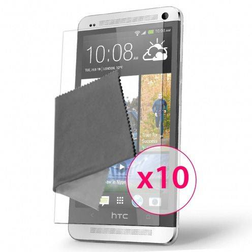 Clubcase ® Ultra Clear HQ screen protector for HTC One 10-Pack