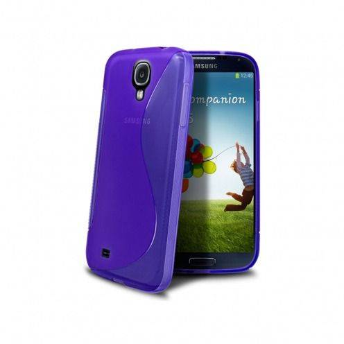 "Galaxy S4 SLine TPU ""BASICS"" purple case"
