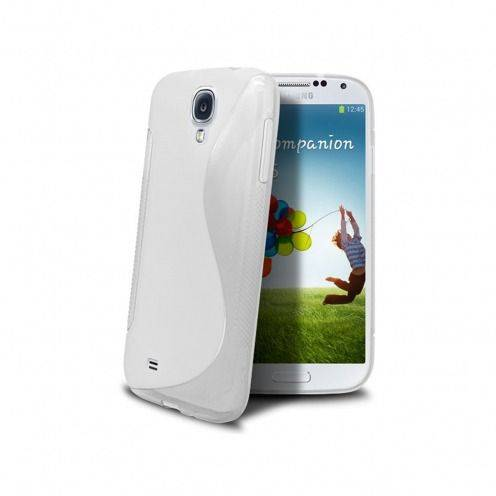 "Galaxy S4 SLine TPU ""BASICS"" white case"
