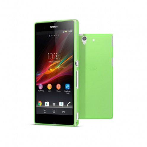Frost Extra Slim soft green case for Sony Xperia Z