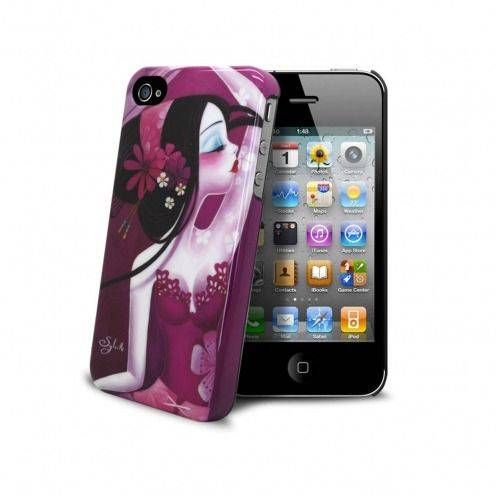 "Muvit® Art Collection Case By Sybile ""Folie d'éventails"" iPhone 4S/4"