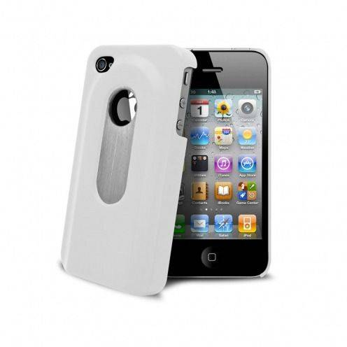 White Bottle Opener Case iPhone 4S/4