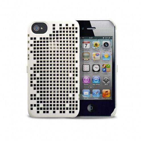 Freshfiber® Double Mesh Case iPhone 4S/4 White