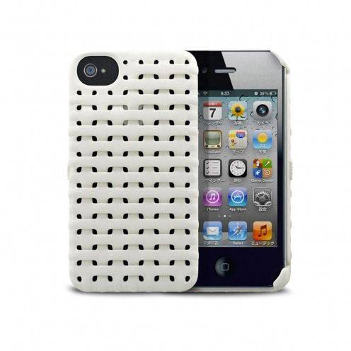 Freshfiber® Weave Case iPhone 4S/4 White